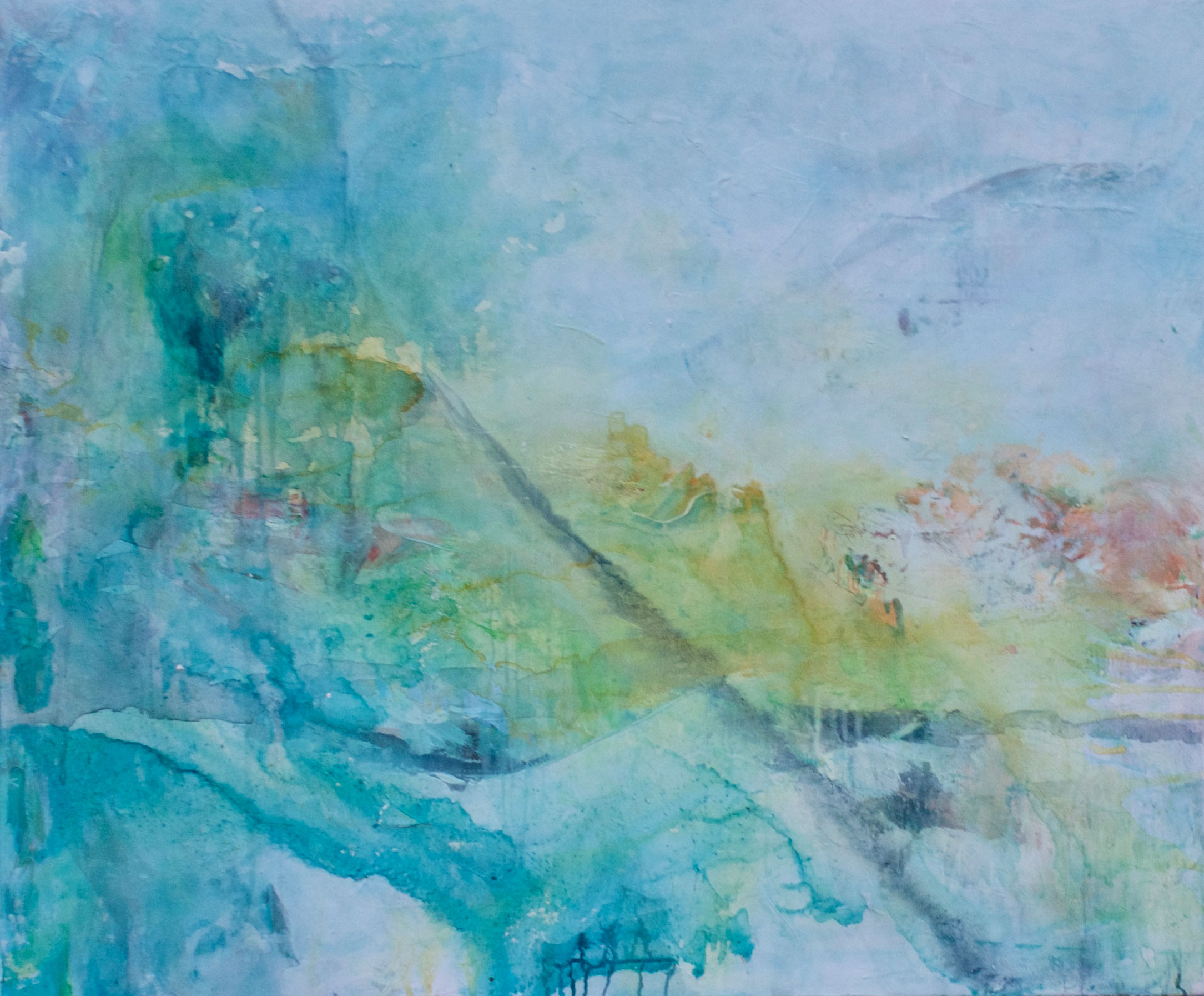 Dreamscape 100 X 120cm Mixed Media